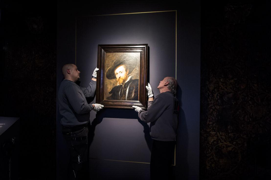 6_Peter Paul Rubens, Zelfportret, Rubenshuis Antwerpen, installatie in situ, opname 13 april 2018, foto Sigrid Spinnox