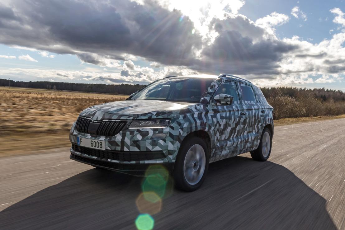 Nieuw model in het segment van compacte SUV's: de ŠKODA KAROQ