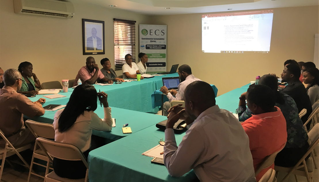 """Participants of the workshop held in Anguilla under the theme """"Zero Investment & Revenue Generating Energy Management Program"""""""