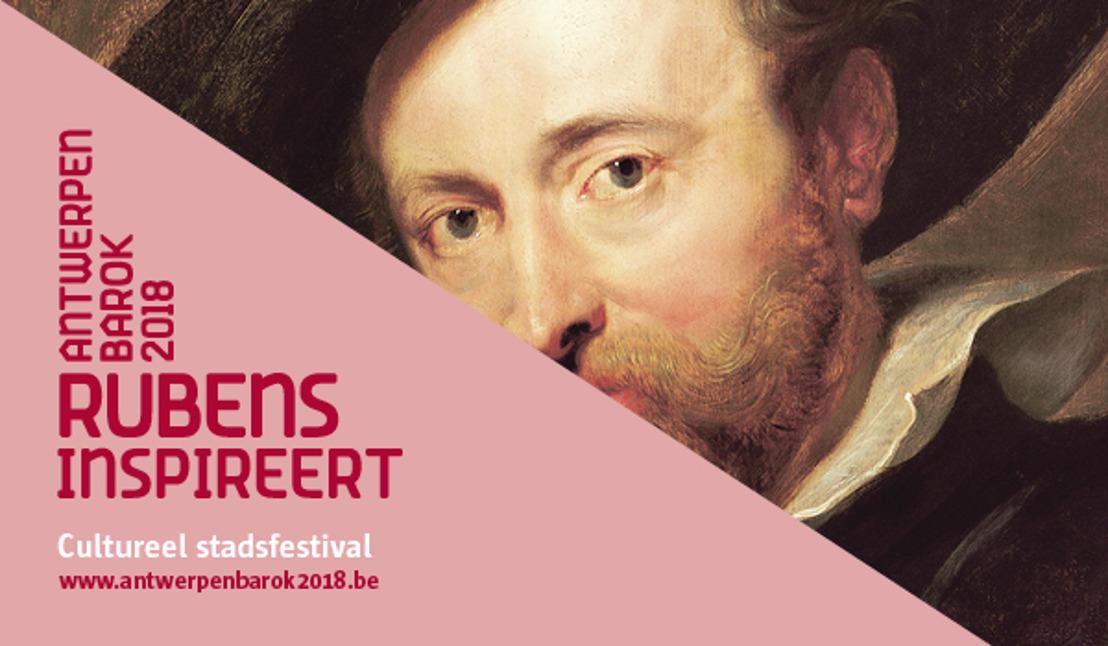 31.05.2018 Persnieuwsbrief juni: Openingsweekend 'Antwerpen Barok 2018. Rubens inspireert'