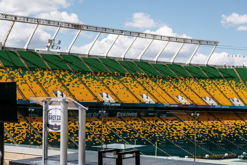 The Brick Field at Commonwealth Stadium. Photo Credit: Cooper & O'Hara Photography/CFL