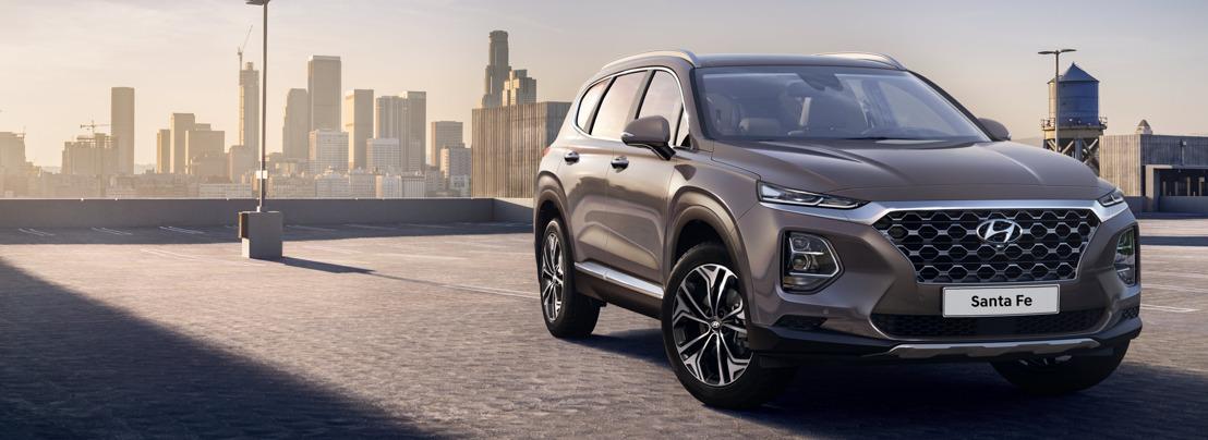 Hyundai Motor reveals first images of the Santa Fe