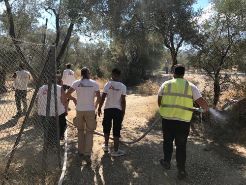 Artsen Zonder Grenzen veroordeelt gewelddadige aanvallen op haar pediatrische kliniek op Lesbos