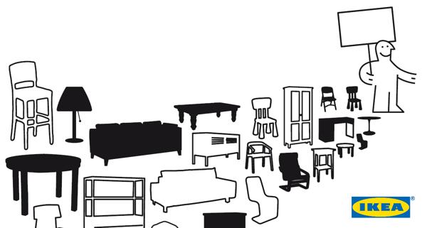 ikea lance sauvez les meubles et aide les clients offrir une seconde vie leurs meubles. Black Bedroom Furniture Sets. Home Design Ideas