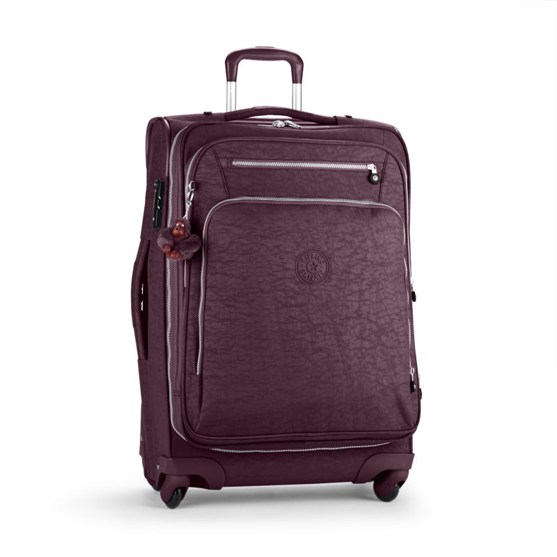 Youri Spin Luggage in Aubergine