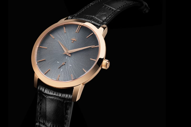Progeny Rose Gold - Schist concept dial - 4