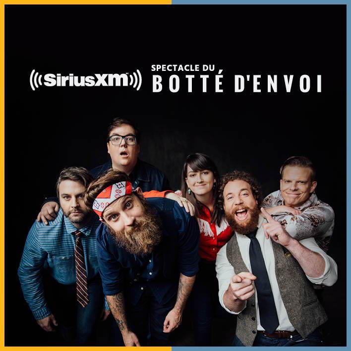 Spectacle du botté d'envoi SiriusXM