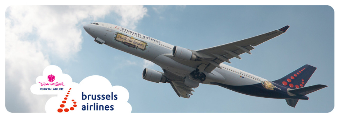 Brussels Airlines flies the world to Tomorrowland for fourth consecutive year