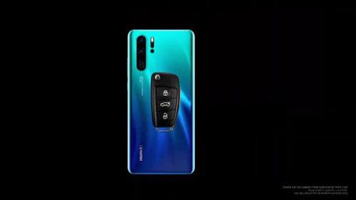 Huawei a annoncé la disponibilité de la clé Audi connect sur les nouveaux smartphones de sa série P30