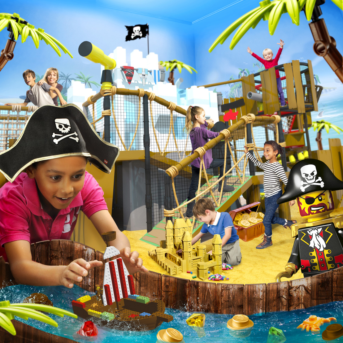 LEGOLAND® Discovery Center Atlanta to arghh-fer special deals for International Talk Like a Pirate Day on September 19