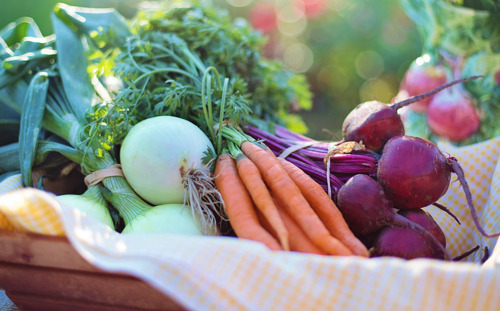 Eating locally grown food is good for your body and the environment