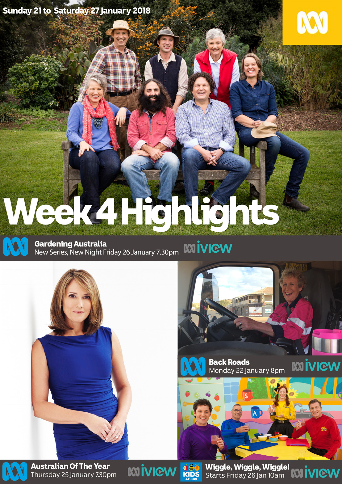 ABC TV Program Highlights - Week 4