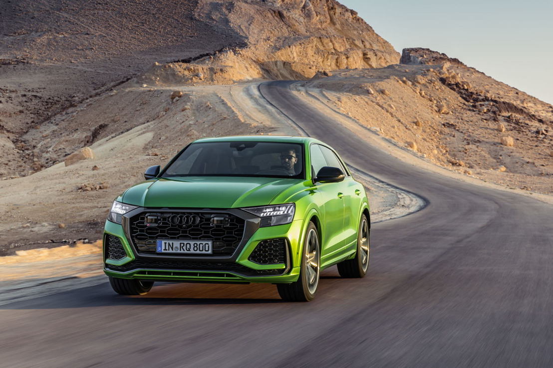 De sportiefste Q: de nieuwe Audi RS Q8