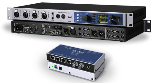 MEDIA ALERT: RME Announces Latest Avid® Pro Tools® Release Allows Users to Utilize Full 64 Channel Count on its Interfaces