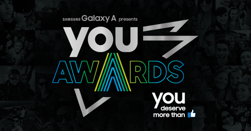 Leo Burnett en Samsung pakken uit met de 2e editie van de 'You Awards'