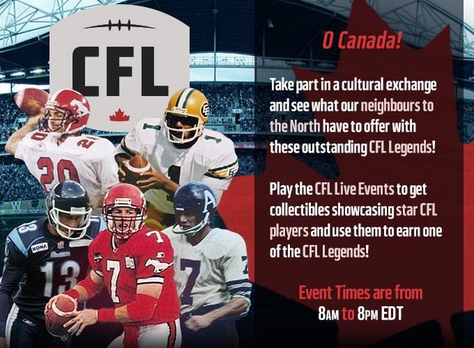CFL in Madden NFL Mobile game.