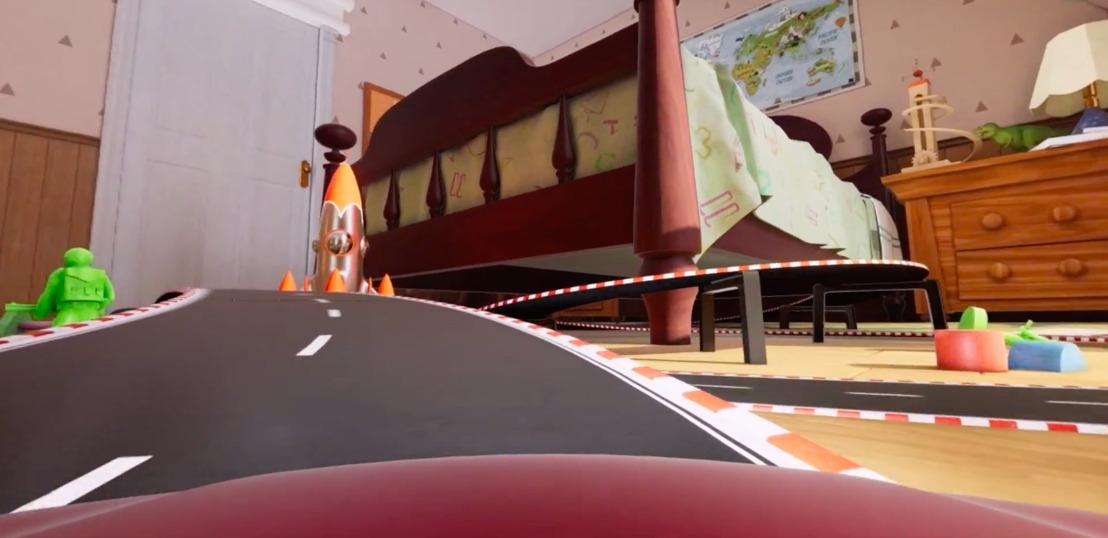 Happiness keert terug naar uw kindertijd, met een virtuele testrit van de nieuwe Toyota Corolla.
