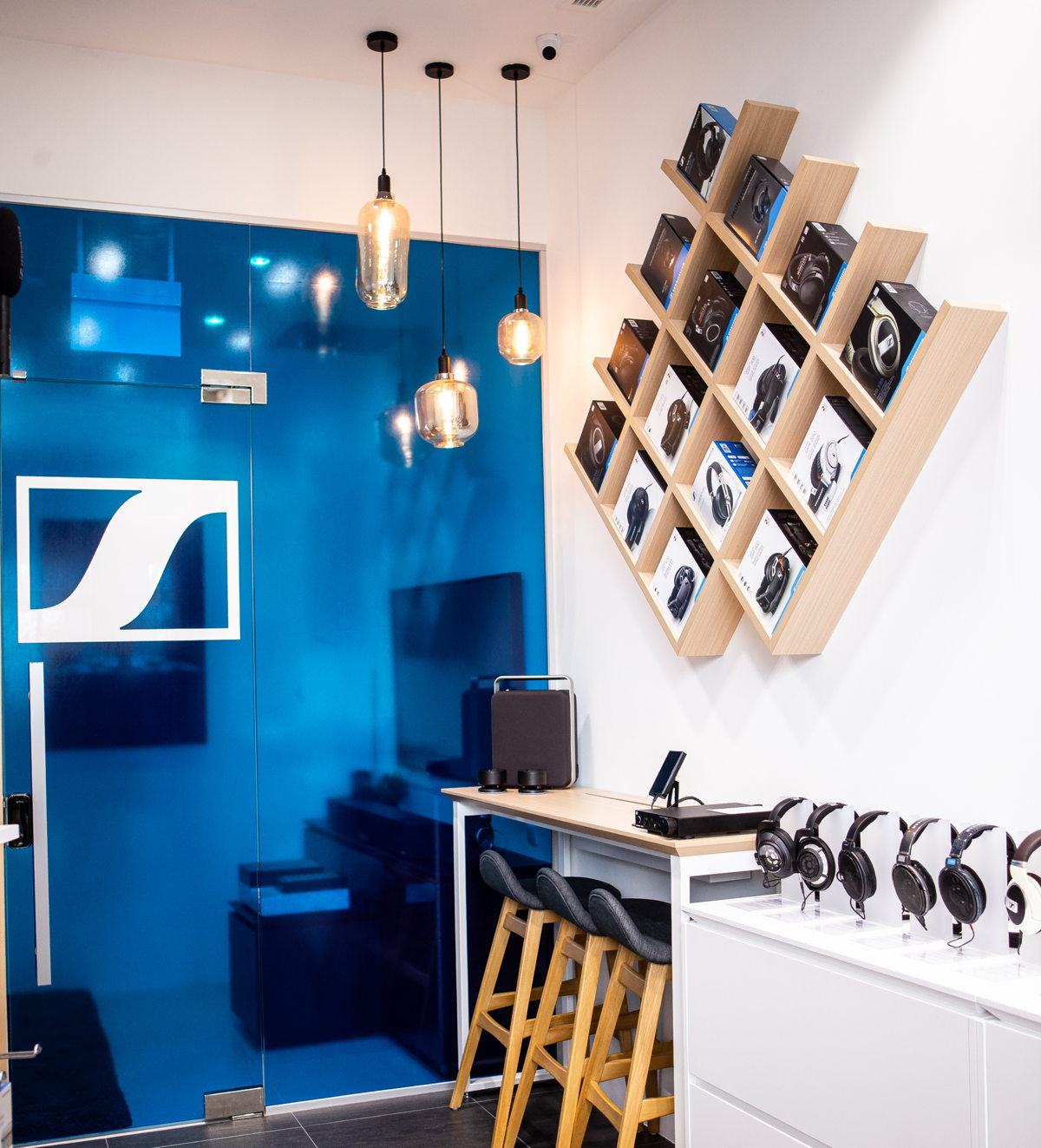A look inside the Sennheiser Store Marina Bay Sands in Singapore