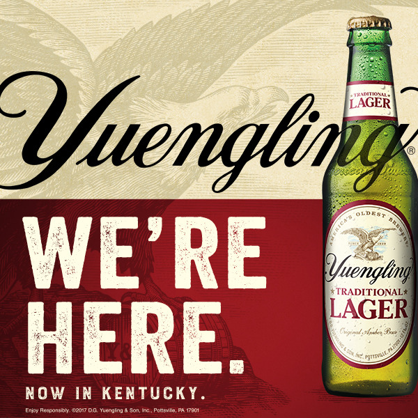 Yuengling Beer Now Available In Kentucky
