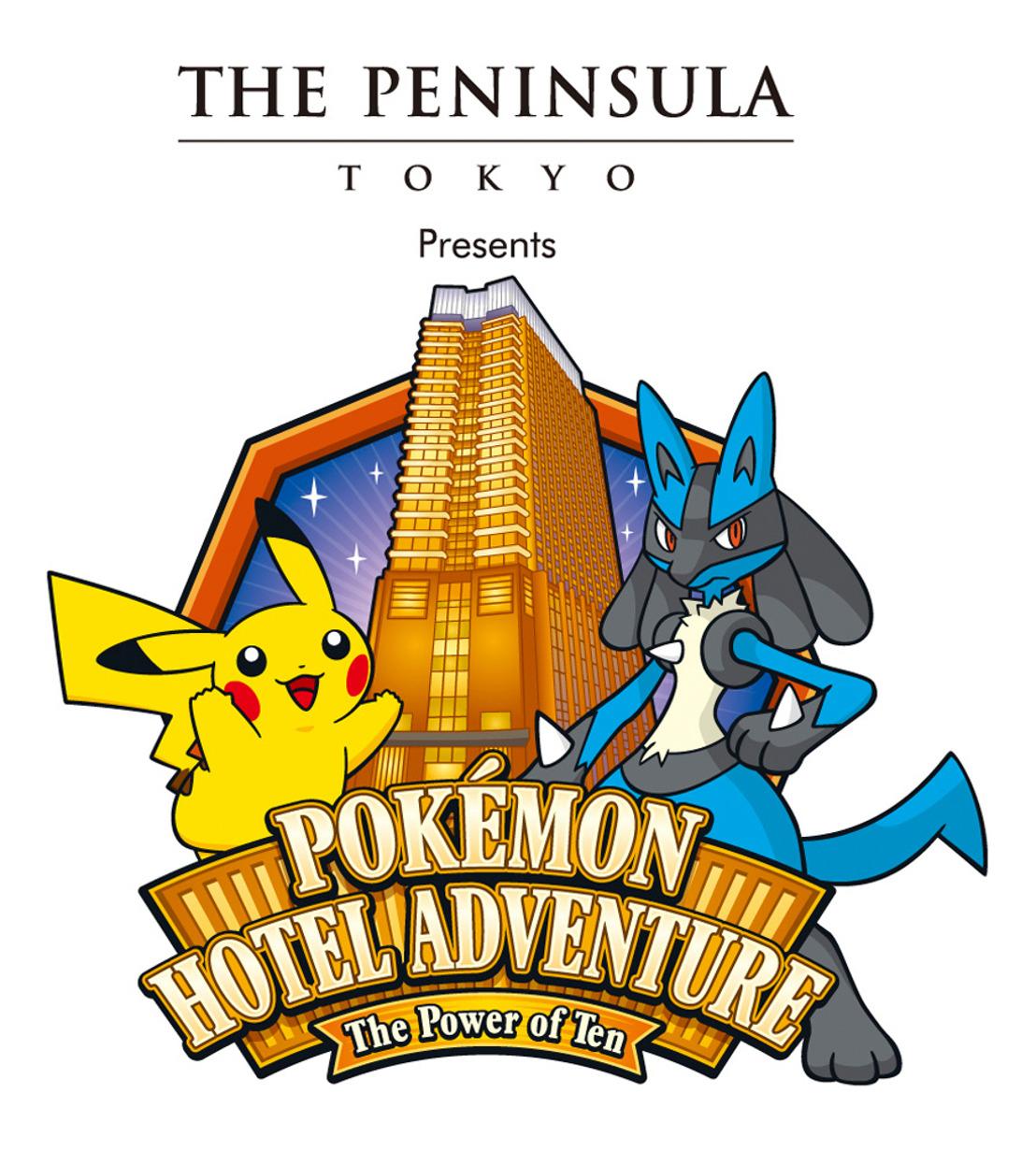 "THE PENINSULA TOKYO PRESENTA ""THE POKÉMON HOTEL ADVENTURE: THE POWER OF TEN"""