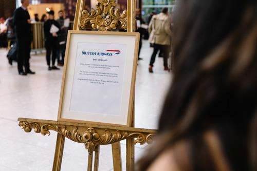 British Airways célèbre l'arrivée du Royal Baby
