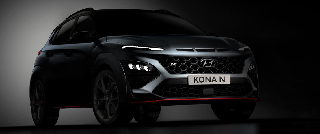 Hyundai enthüllt ersten Eindruck vom New KONA N