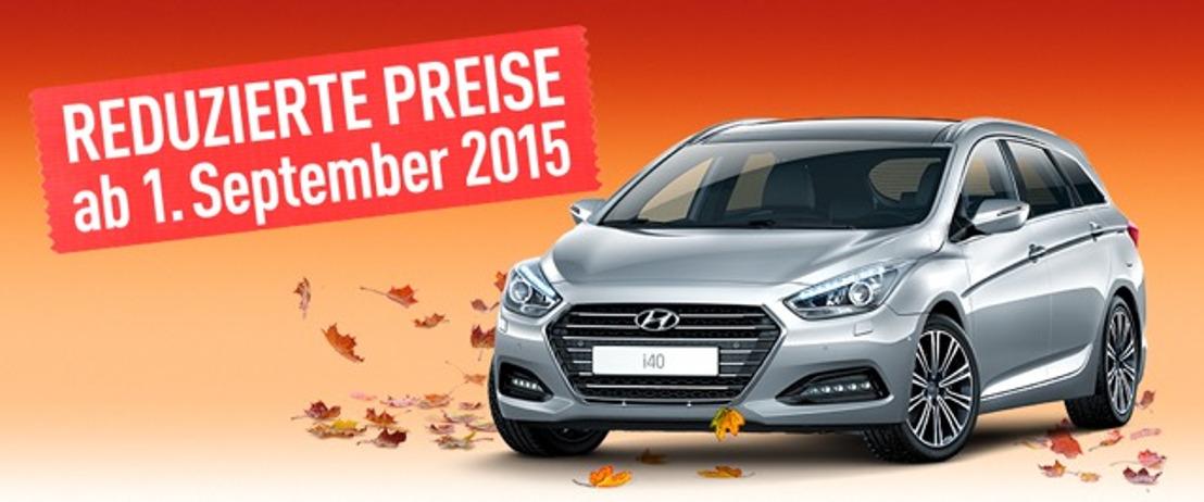 Hyundai senkt die Preise