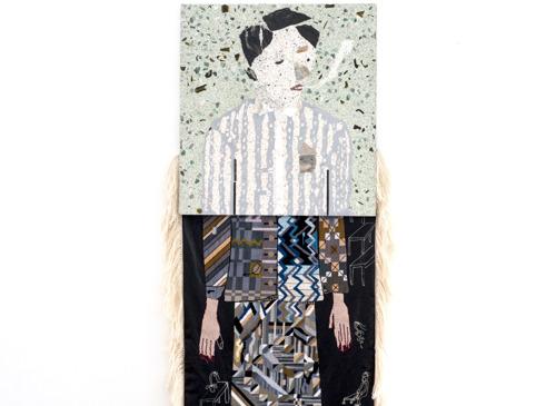 Kunstenaar Klaas Rommelaere nodigt modeontwerper en kunstenaar Manon Kündig uit voor een duoshow bij DMW Gallery