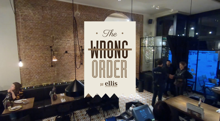 DDB Brussels et Ellis Gourmet Burger servent The Wrong Order