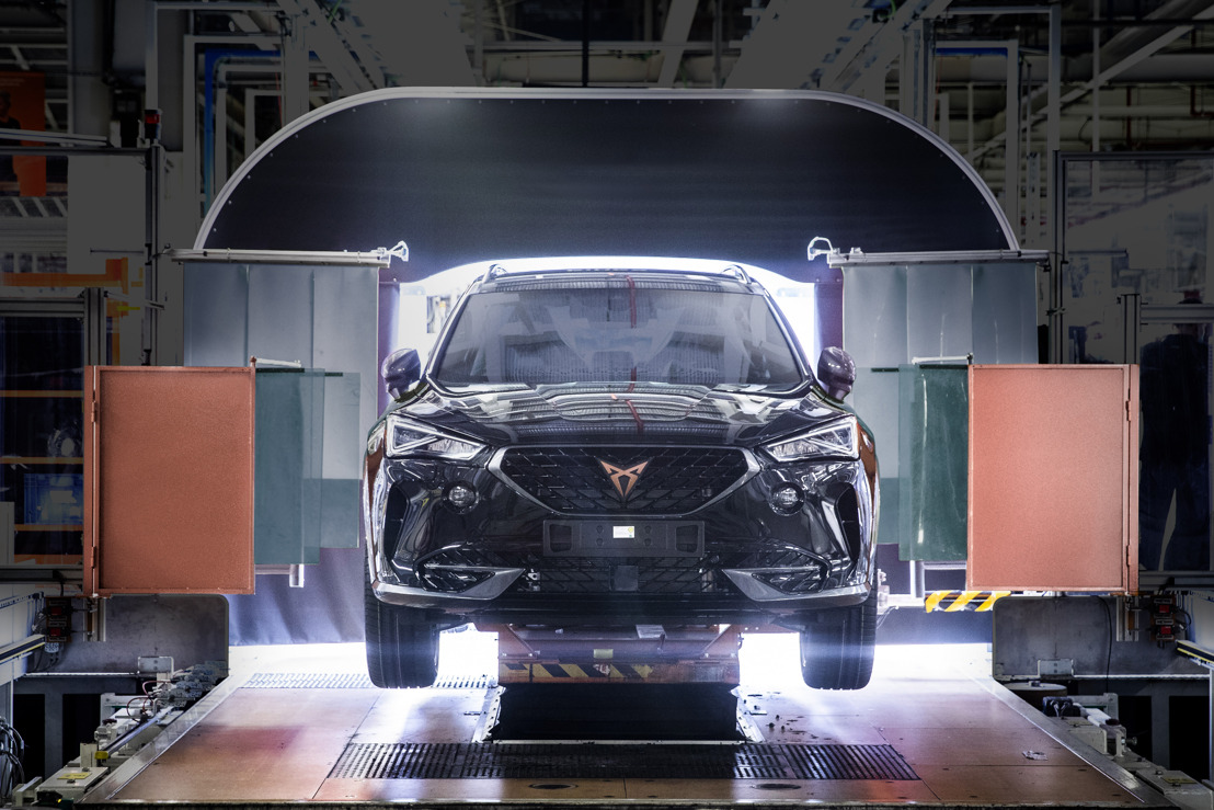 CUPRA boosts electrification and starts production of the Formentor e-HYBRID