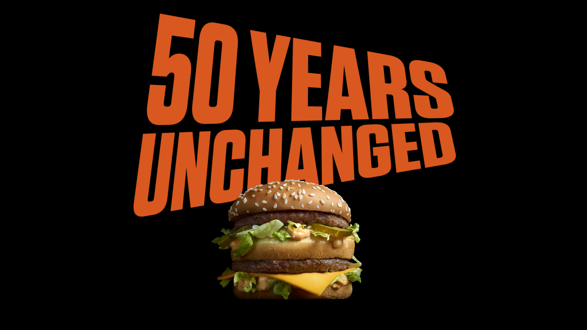 TBWA And McDonalds Celebrate 50 Years Of Big Mac With The Unchangers