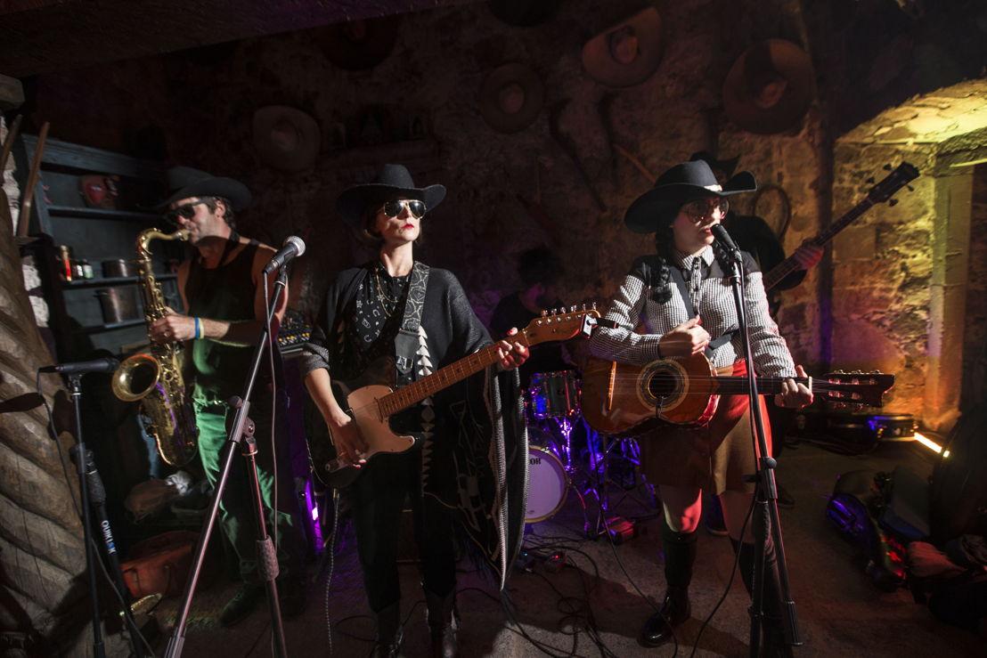 El grupo musical Mexican Standoff