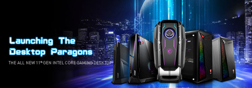 MSI enthüllt die neuen Intel Rocket Lake Gaming-Desktops der 11. Generation