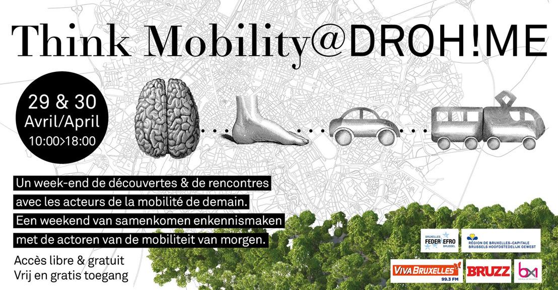 Communiqué de presse : Think Mobility@Drohme 29 et 30 avril 2017