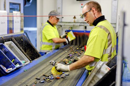 90% van de Belgen vindt dat gebruikte batterijen gerecycleerd moeten worden