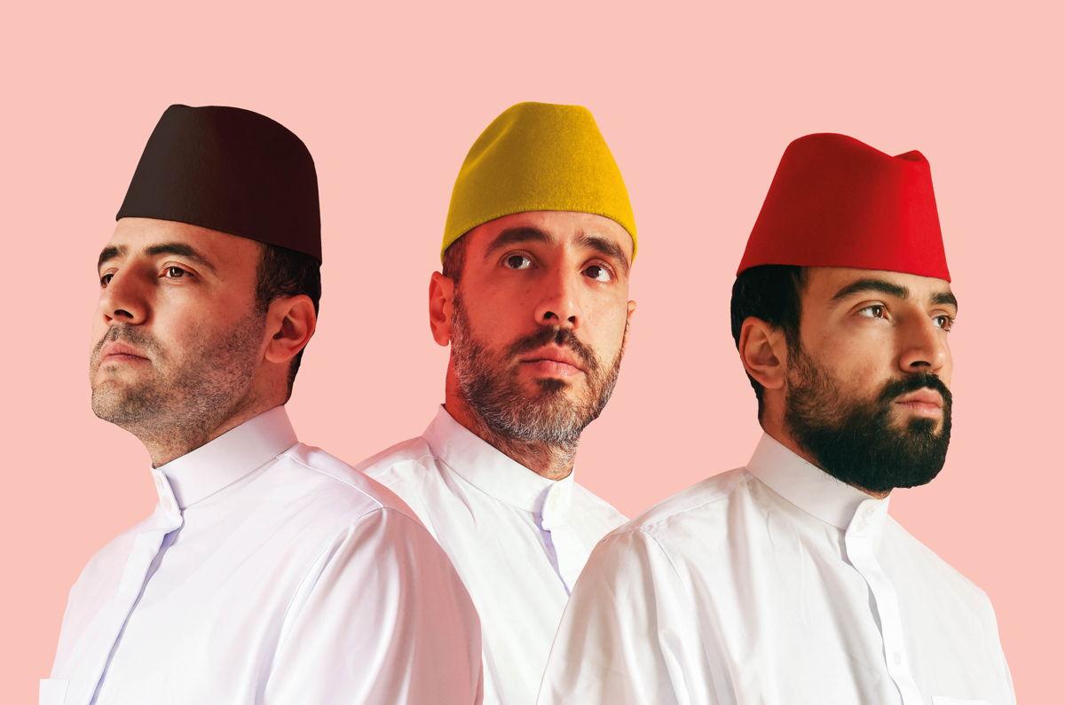 Rachid, Mous en Youssef Lamrabat © Studio Brussel