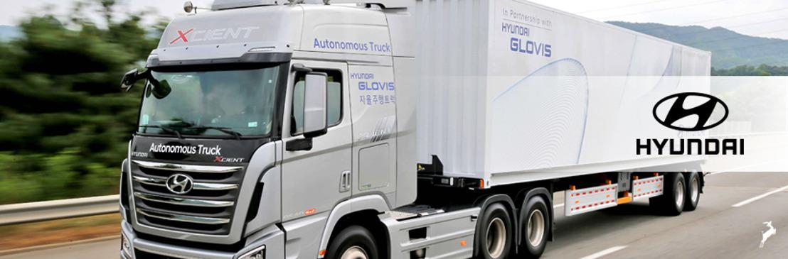 Hyundai Motor Company completa el primer viaje de un camión autónomo por una autopista en Corea del Sur