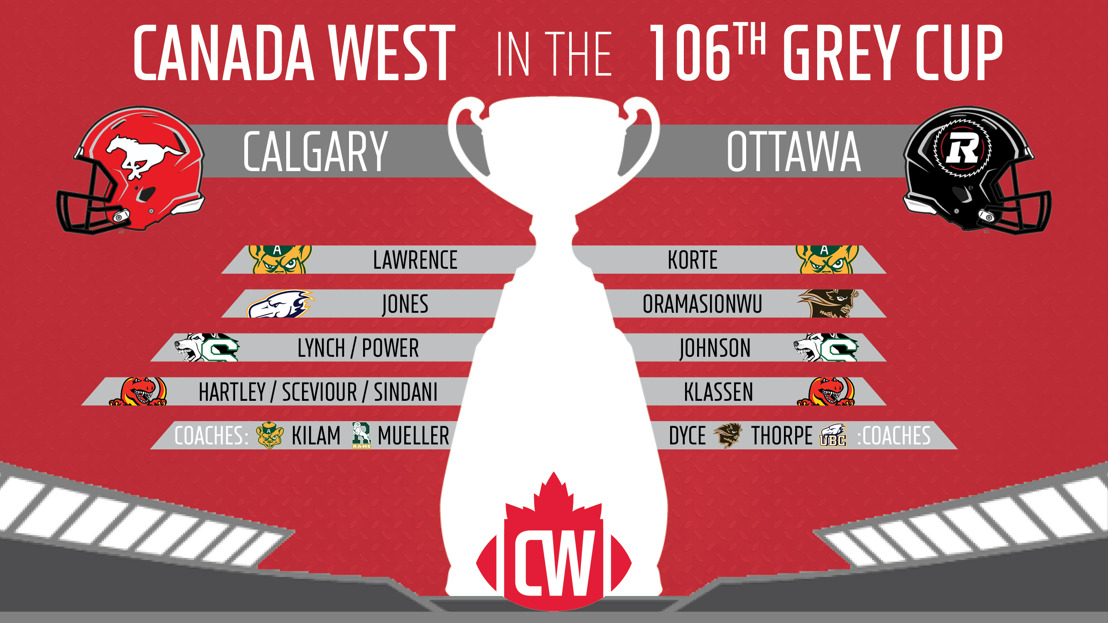 FB: Calgary, Ottawa bring Canada West content to 106th Grey Cup