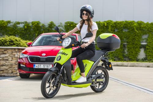 BeRider: ŠKODA AUTO DigiLab launches eScooter sharing in Prague