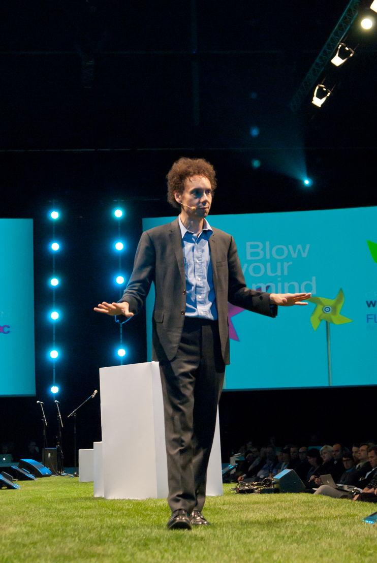 Malcolm Gladwell, CWF 2011 in Hasselt (Belgium).