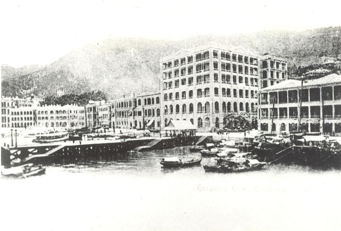 Glamour of Travel - The Hong Kong Hotel in 1868