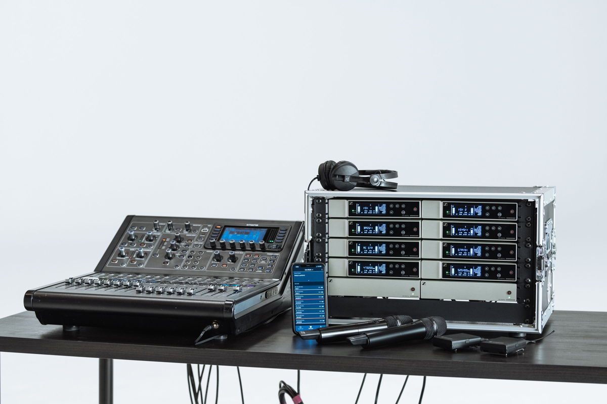 Evolution Wireless Digital is an ideal system for corporate and school events