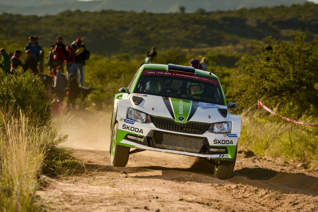 Rally Mexico: ŠKODA Motorsport's Pontus Tidemand chasing WRC 2 Championship lead