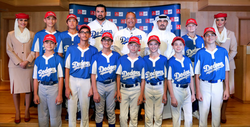 Emirates Partners with Los Angeles Dodgers to sponsor the Dubai Little League