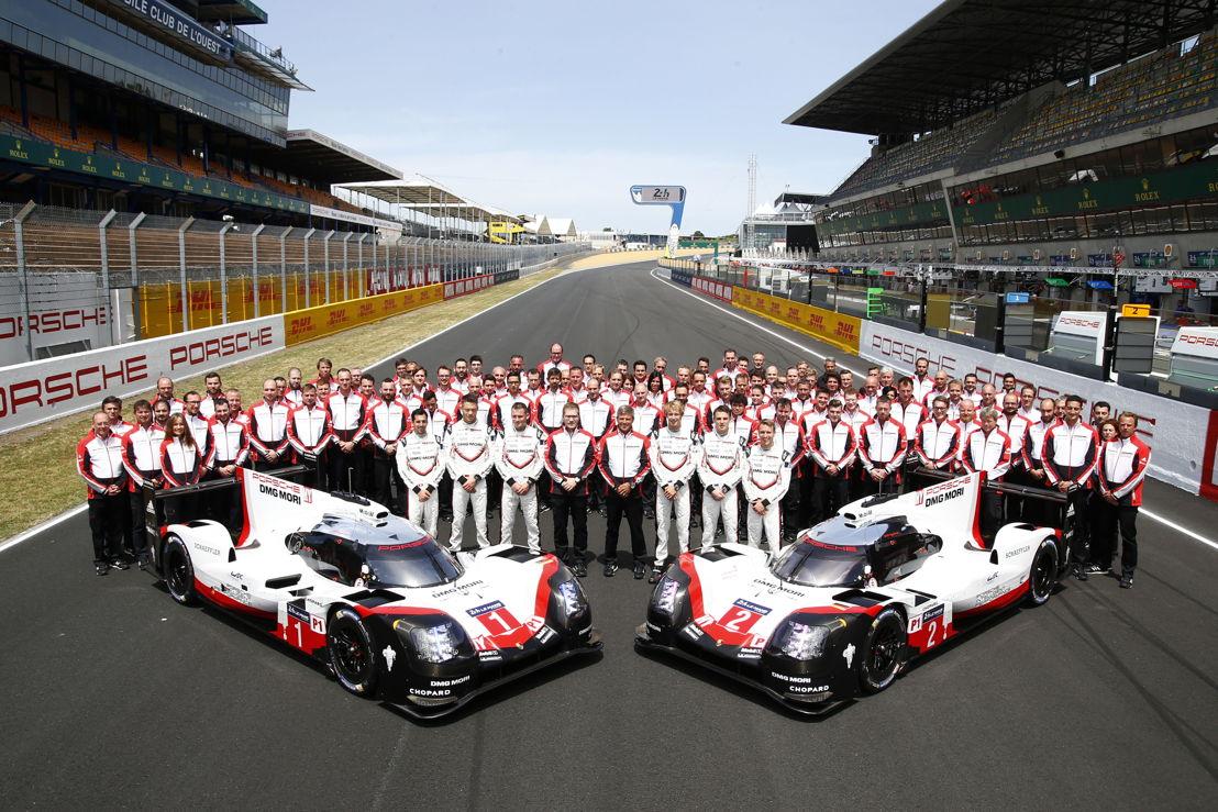 Porsche LMP Team, Le Mans 2017