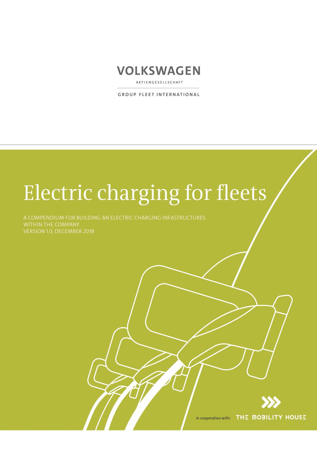 Construir las infraestructuras de carga para los EV dentro de las compañías