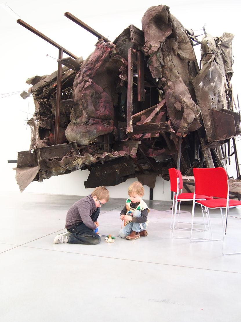 Peter Buggenhout au musée M à  Louvain (c) Andy Merregaert