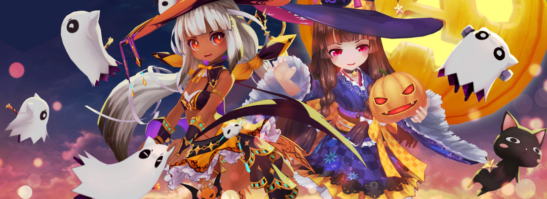 Media Alert: The Hauntings of Azuria corrupts Aura Kingdom with plenty of Halloween-themed content