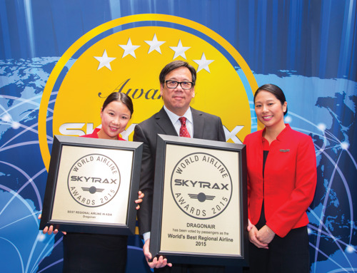 Dragonair named as Skytrax 'World's Best Regional Airline' for fourth time – a first for any carrier