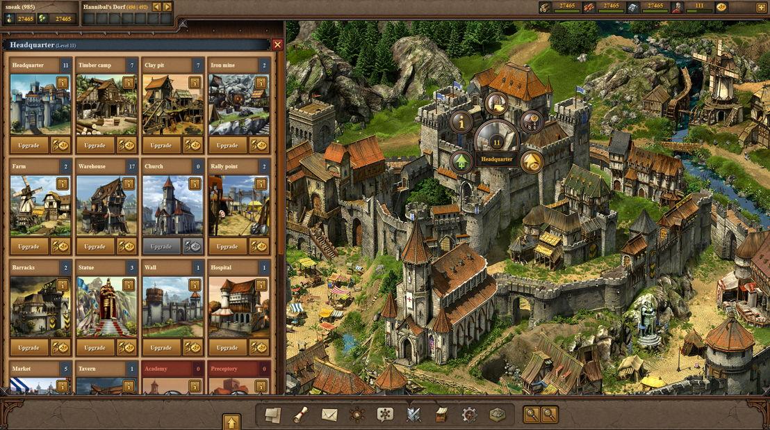 Tribal Wars 2 Screenshot Browser